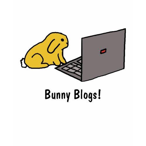 Bunny Blogs! | T-shirt shirt