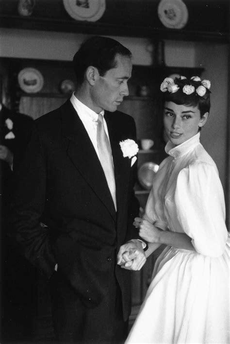 Audrey Hepburn Wedding Dress Photos, Ceremonies, & Dress