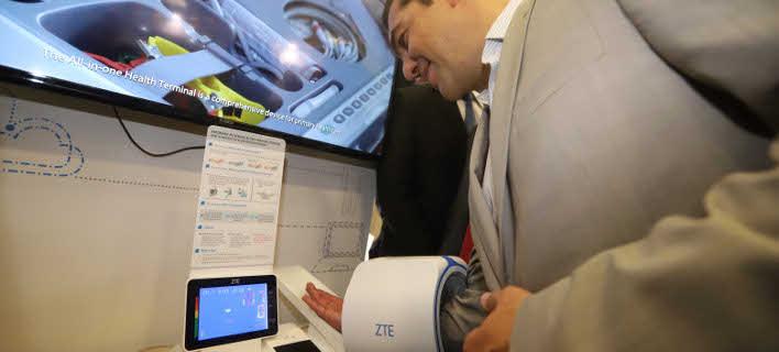 Φυσιολογική η πίεση του κ. Τσίπρα, σύμφωνα με κινεζικό μηχάνημα (Φωτογραφία: EUROKINISSI/ MOTION TEAM/ ΤΡΥΨΑΝΗ ΦΑΝΗ)
