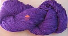 purple yarn
