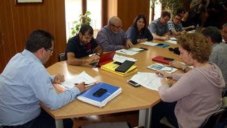 La junta de govern de Torroella en què s'han autoritzat els correbous (ACN)