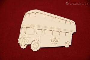 Londyńska herbaciarnia - autobus piętrowy mały