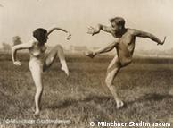 Gerhard Riebicke: Casal em dança livre, de 1930