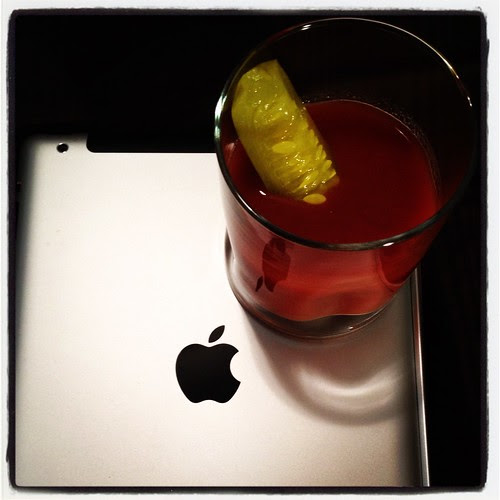 The IPad2 as Coaster