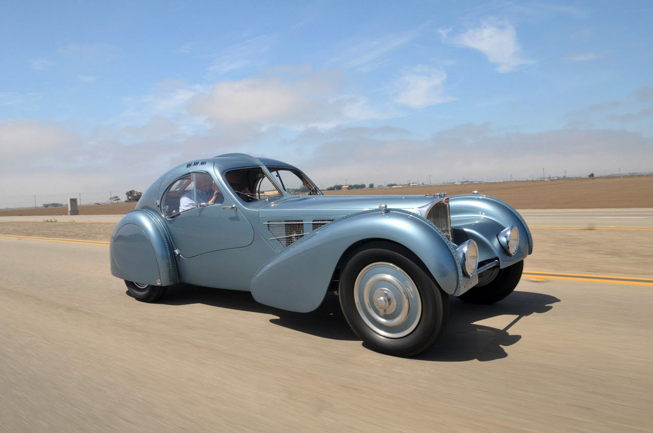 The World's Most Expensive Car, 1936 Bugatti Type 57SC Atlantic on Display at the Mullin ...