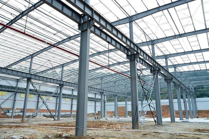 Pabrikasi Struktur Baja Gudang Ekonomis Dan Desain Q345b Amp Q235b