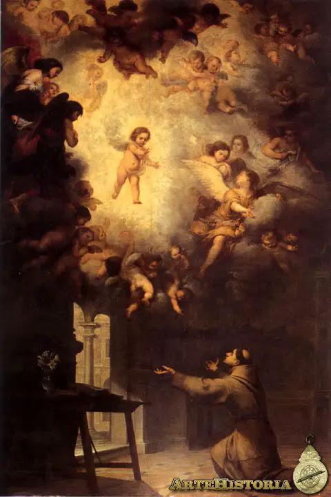 Visión de San Antonio de Padua