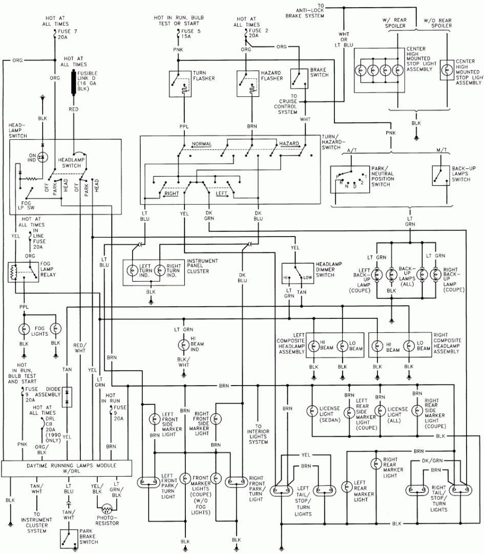 E48 1990 Chevy Truck Brake Light Wiring Diagram Wiring Resources