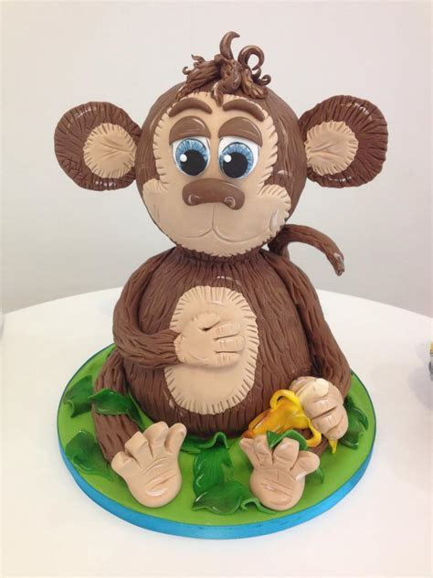 3d Cheeky Monkey Cake