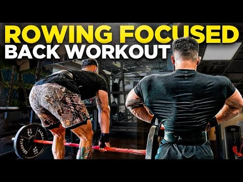 Rowing Focused Back Workout | Training Fasted