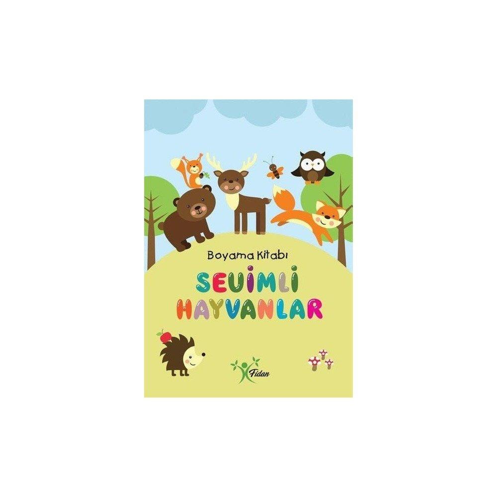 Sevimli Hayvanlar Boyama Kitabı Indirilmli Fiyatı 350 Tl