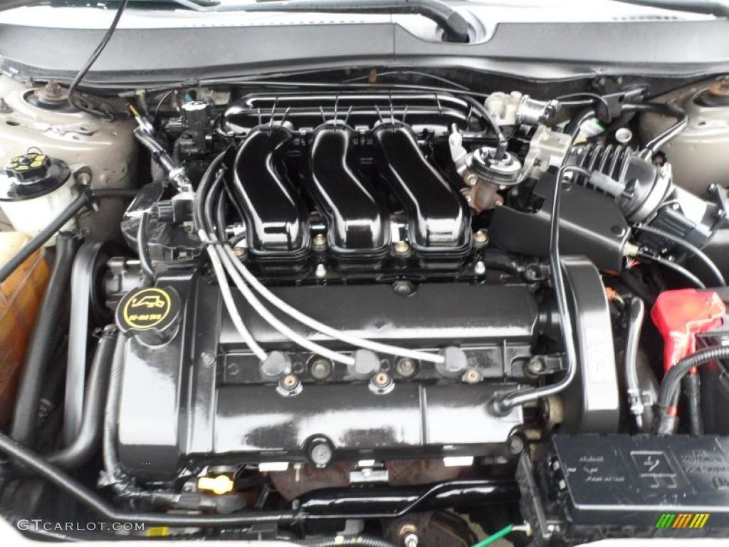 2003 Ford Taurus SE Wagon 3.0 Liter DOHC 24-Valve V6 ...