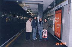 Underground Tube Station 'Tower Hill', London, UK