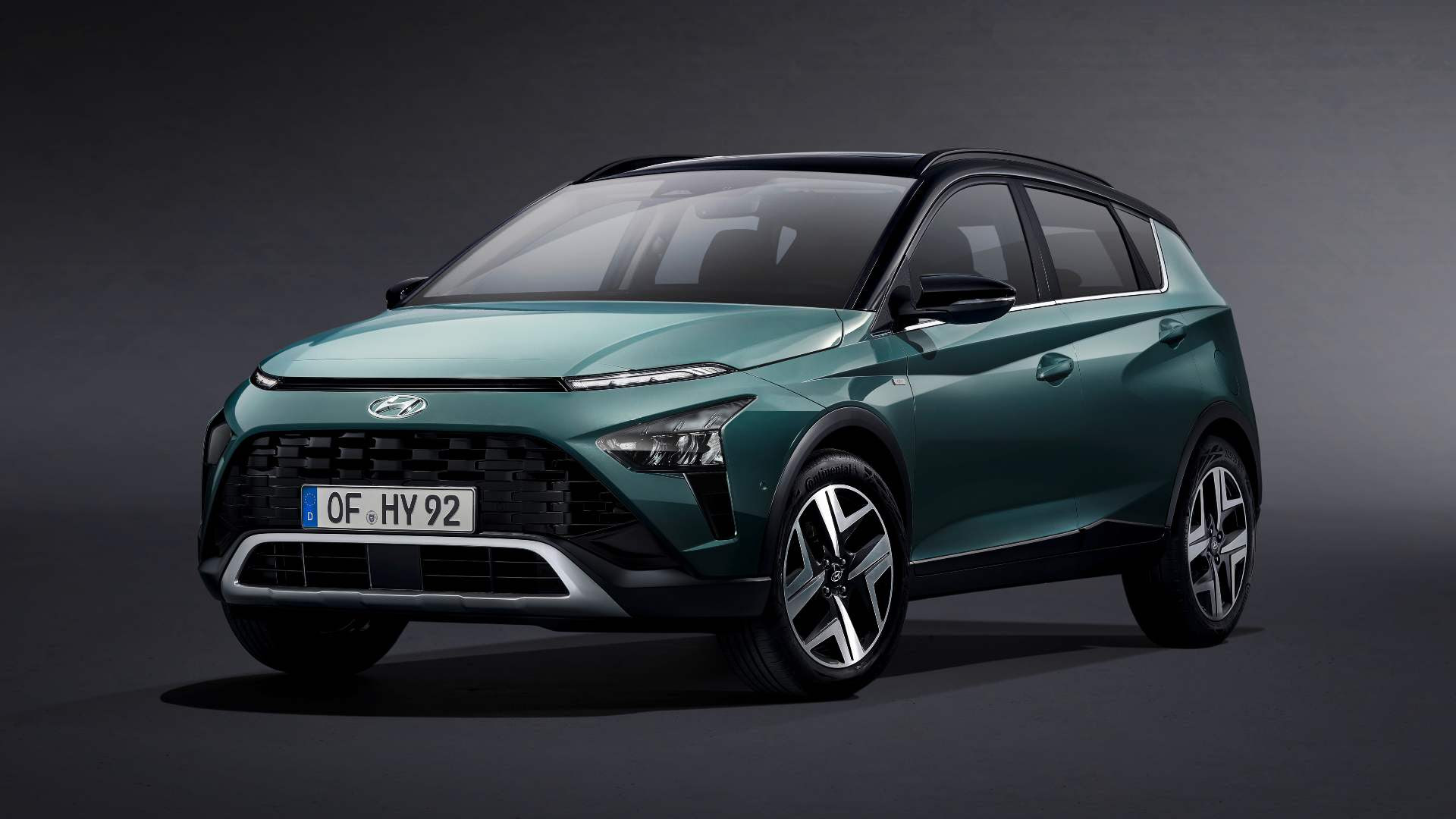 The Bayon is the smallest crossover in Hyundai's Europe lineup. Image: Hyundai