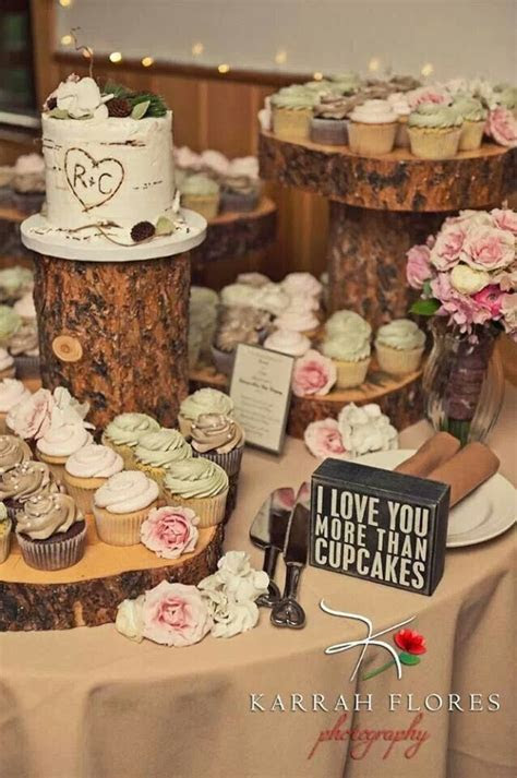 25  best ideas about Wood cupcake stand on Pinterest