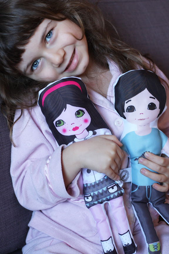 bianka with dolls