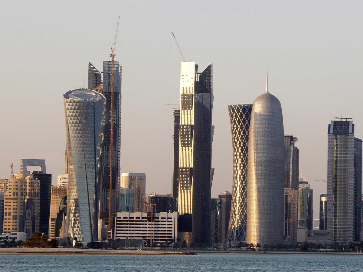 20.) DOHA just makes it into the top 20, climbing from 22nd place last year, the capital of Qatar is the middle east's second most important financial hub.