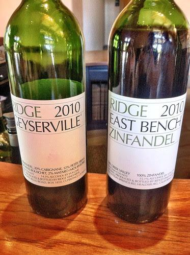 Ridge wines