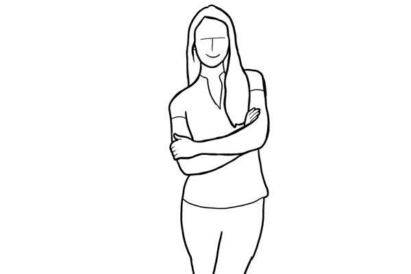Позирование: позы для женского портрета 2-10