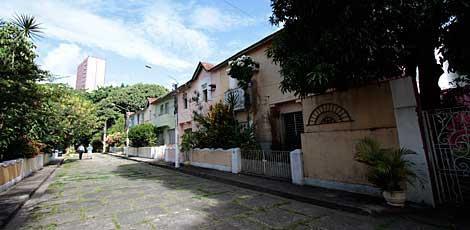 Dez casas fazem parte da Vila, localizada na Rua do Riachuelo, Boa Vista. / Foto: Bobby Fabisak