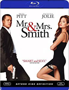 """Cover of """"Mr & Mrs Smith [Blu-ray]"""""""