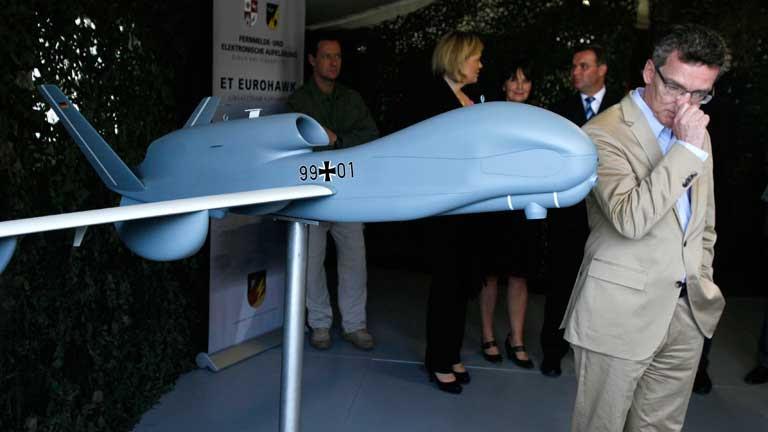Polémica en Alemania por el proyecto de drones
