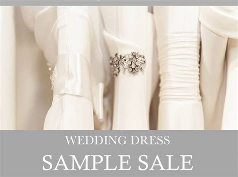 Wedding Gown Sample Sale Day   23rd November   The Bride