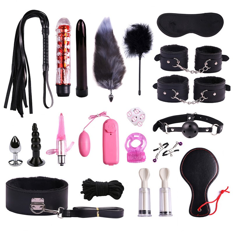 NEW  Sex Toys Penalty Handcuffs Tools Orgasm Series Alternative Toys Passion Bundle Binding Suit Nylon P
