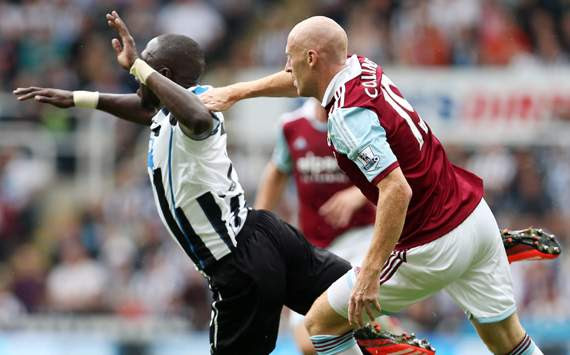 Newcastle United vs West Ham,Moussa Sissoko,James Collins