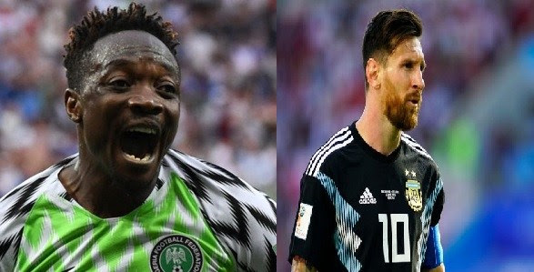 Ahmed Musa vows to score against Argentina today