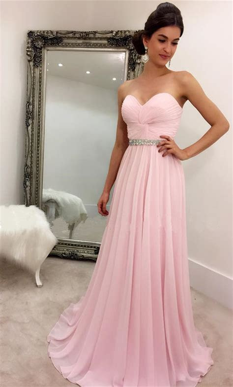 Baby Pink Prom Dress, Prom Dresses,Graduation Party