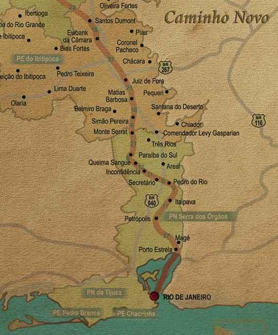 29 de agosto de 1852 - Início da construção da Primeira Ferrovia Brasileira: Estrada de Ferro Mauá