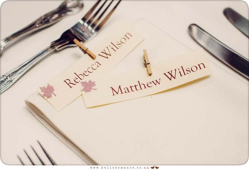 Vintage Wedding Decorations - Hello Romance