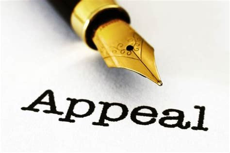 file  disaster claim   appeal