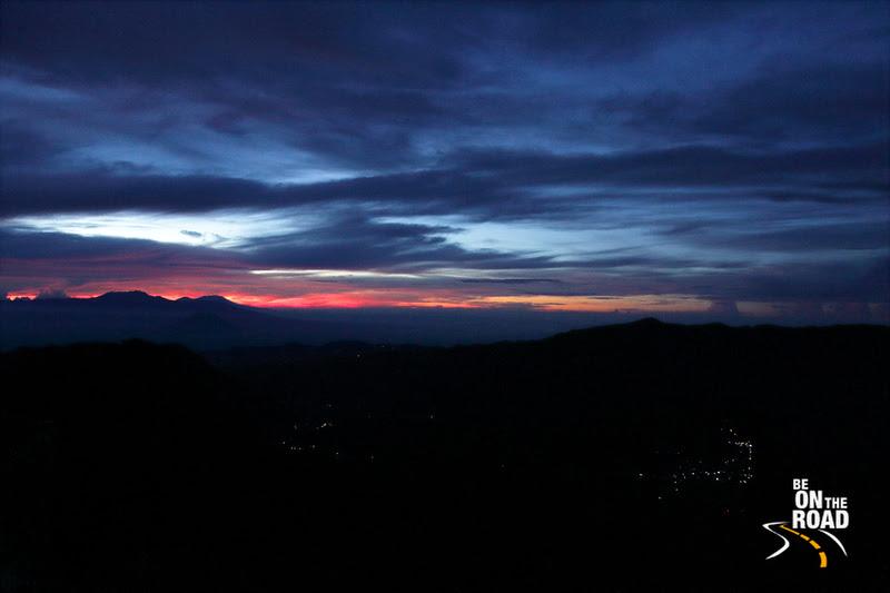 Shaggy sunrise near the Bromo volcano, Indonesia