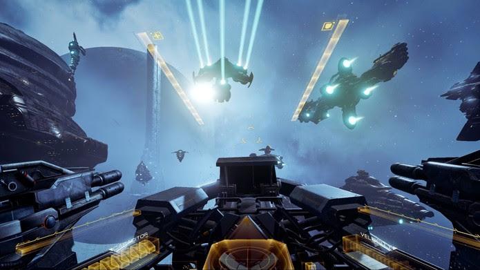 Eve: Valkyrie no espaço (Foto: Divulgação/CCP Games)