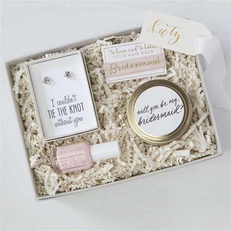 Be My Bridesmaid Gift Box   My daughters wedding