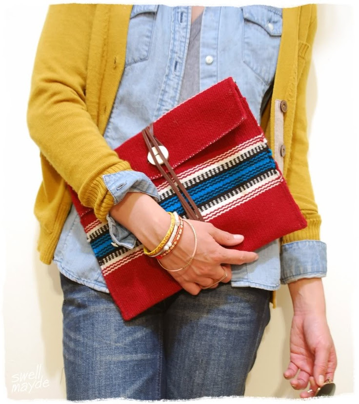 92 TUTORIAL DIY FABRIC ENVELOPE CLUTCH WITH VIDEO TIPS ...