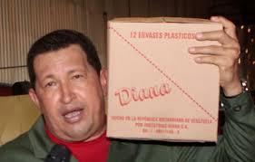 Chávez en Industrias Diana (aceites) en 2010