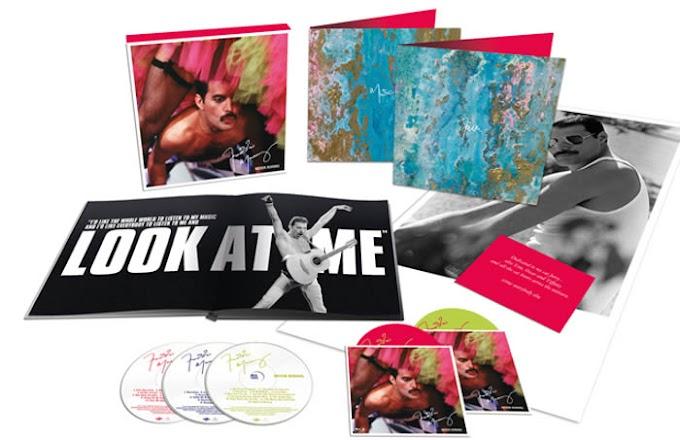Never boring recopila grabaciones en solitario de Freddie Mercury