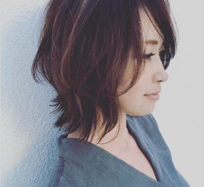 ぽっちゃり ミディアム 代 髪型 40
