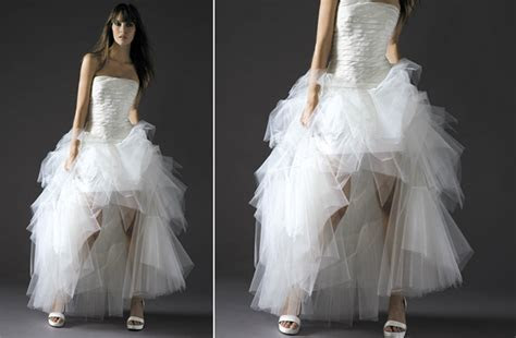 ugly wedding dresses ballerina gone bad   OneWed.com