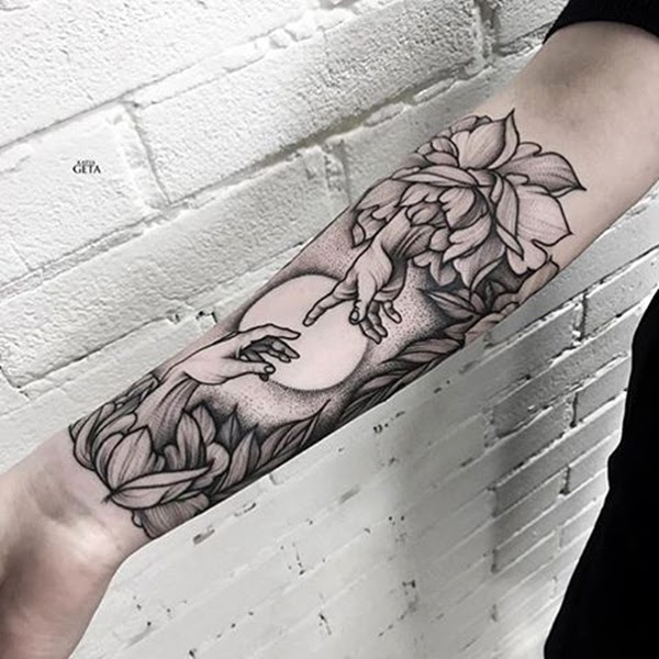 New and Trendy Dotwork Tattoo Ideas for 2016 (13)