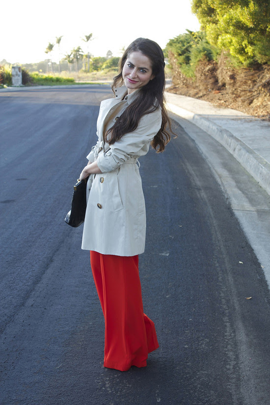 Outfit of the week- Lipstick & Ruffles (2)