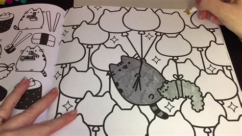 coloring time  pusheen coloring book pusheen stormy