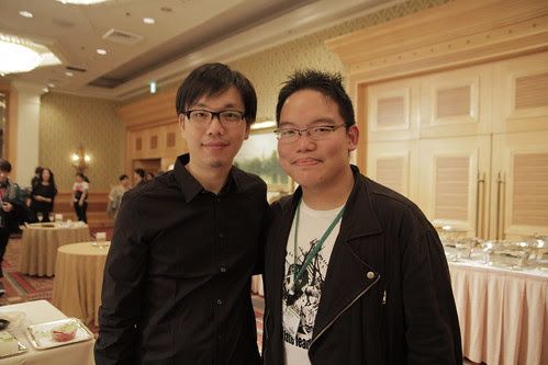 With Taiwanese filmmaker Hou Chi-Jan 侯季然