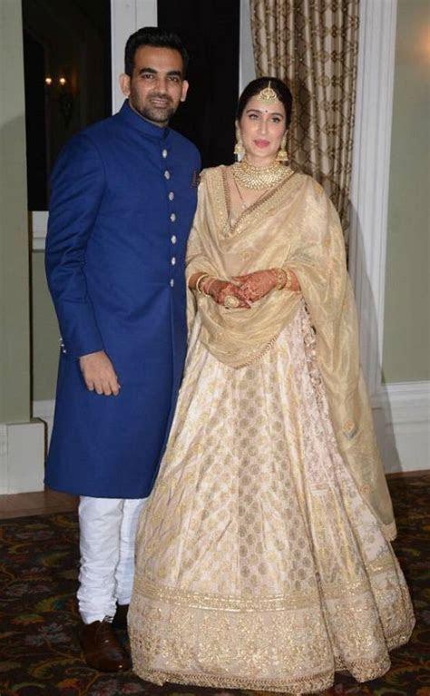 Zaheer Khan Wife, Sagarika, and His Wedding Photos