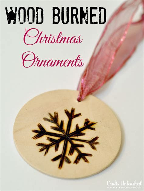 Christmas Ornaments: Wood Burned Ornament Tutorial