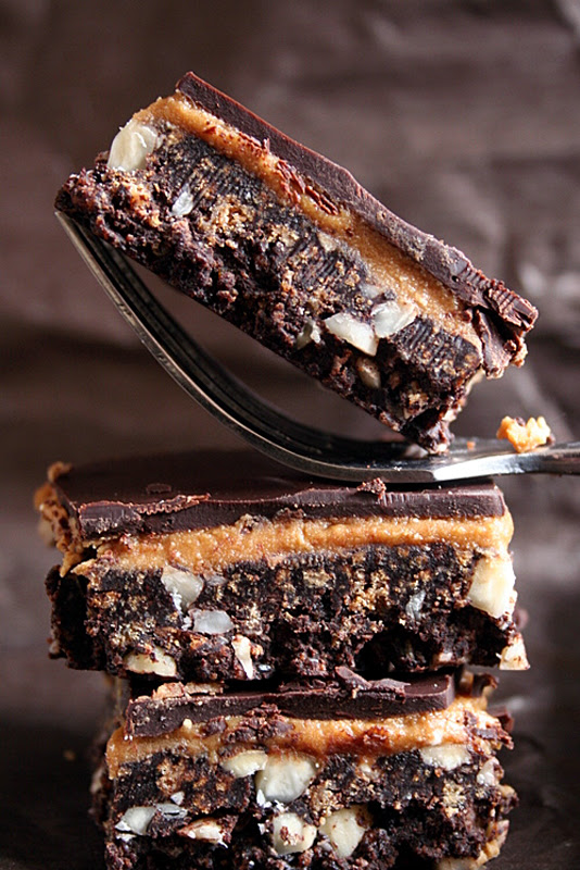 Mocha Almond Nanaimo Bars