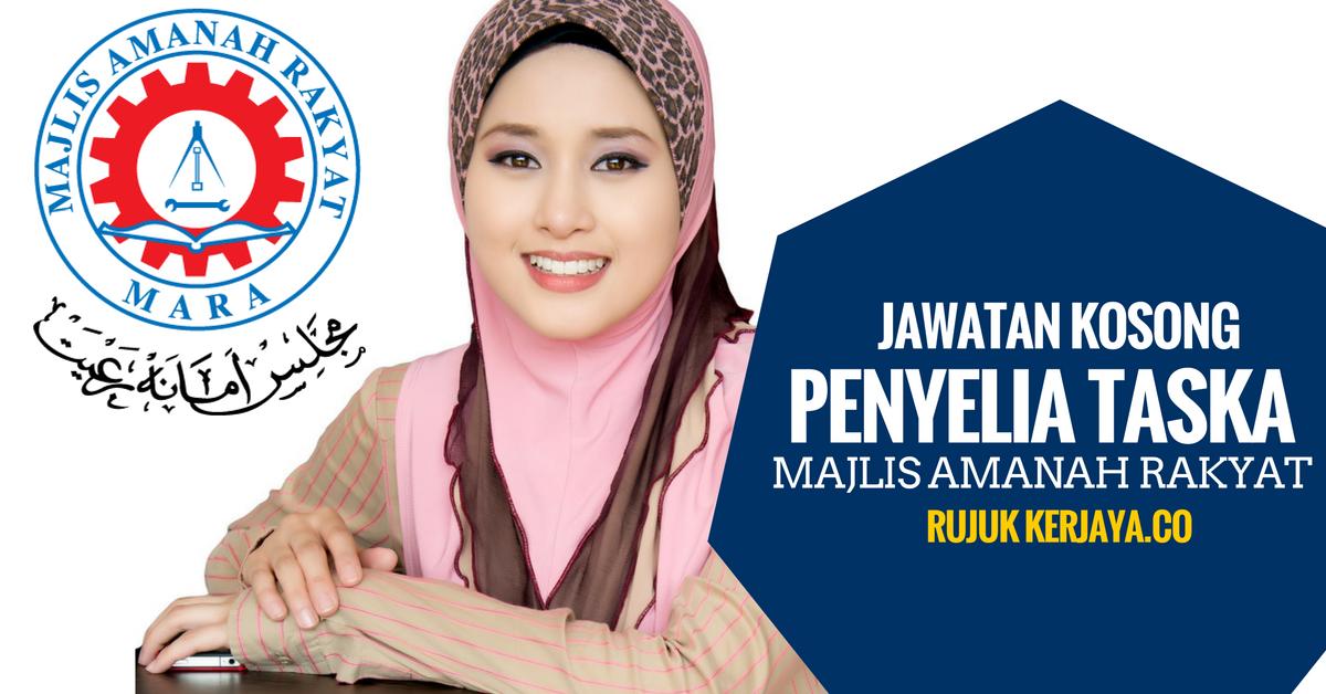Jawatan Kosong Terkini Penyelia Taska Majlis Amanah Rakyat ...